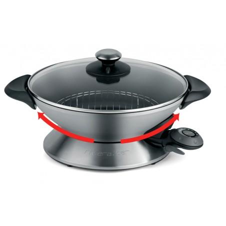 QC136A_Cuve à fond arrondi comme sur les woks professionnels