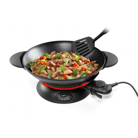 QWK450_Cuve à fond arrondi comme sur les woks professionnels