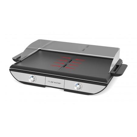 QPL665_Plaque inclinée pour évacuer les graisses dans le tiroir collecteur en face avant