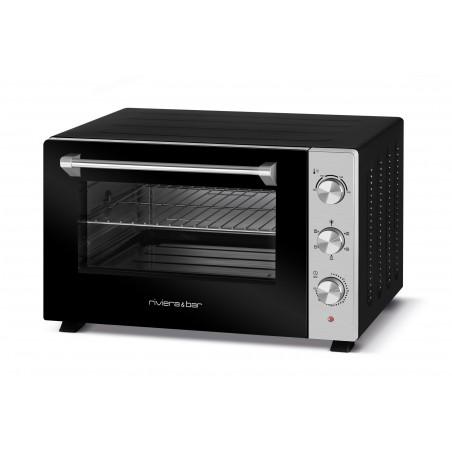QFR600_5 modes de cuisson et 3 niveaux de gradin