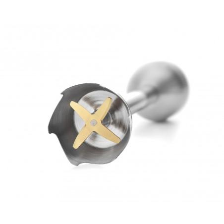 PPM530_Lames inox du pied mixeur renforcées Titane pour une efficacité de coupe garantie dans le temps