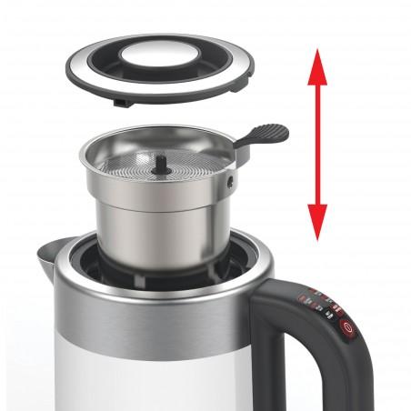 BTH320_Facilité de mise en place et de retrait du panier à thé