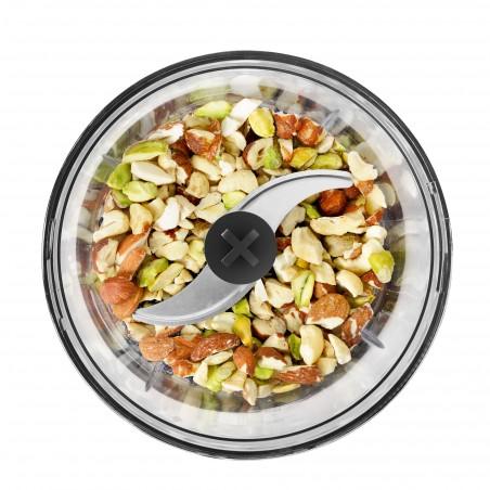 PPM570_Pour viande, poisson, oignons, fines herbes... avec socle antidérapant utilisable en couvercle