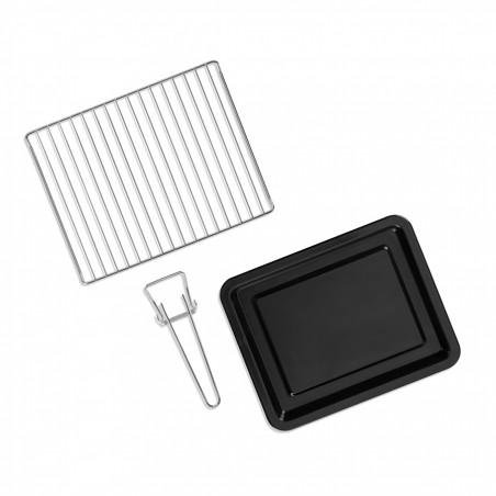 QFR210_Accessoires inclus : grille de cuisson lèchefrite et pince
