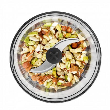 PPM560_Pour viande, poisson, oignons, fines herbes... avec socle antidérapant utilisable en couvercle
