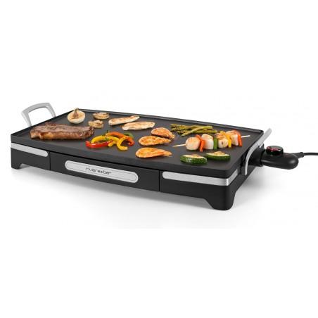 QP350A_Maxi surface de cuisson pour cuire simultanément légumes, émincés, fruits de mer, viandes et poissons plus épais