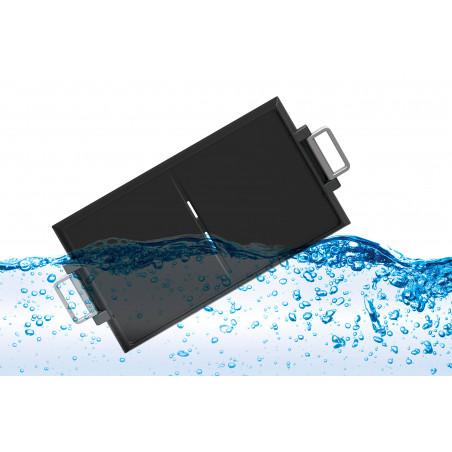 Plancha amovible bi-zone QPL 650 lavable à grande eau