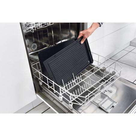QPL800_Plaques de cuisson, pare-graisse, tiroir à jus et spatules compatibles lave-vaisselle