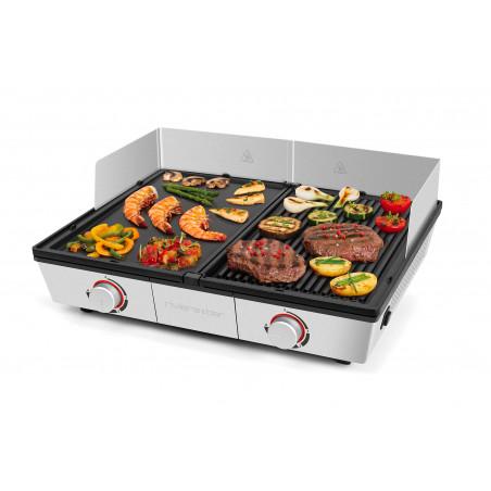 QPL800_2 zones de chauffe réglables séparément pour une cuisson simultanée de différents aliments