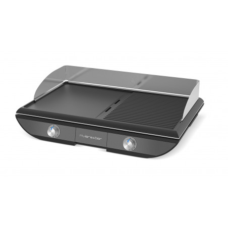 Plancha-Gril bi-zone  QPL 570 gamme