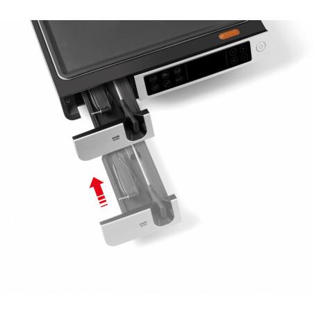 QGC550_Tiroir dédié pour le branchement et le rangement de la sonde de température
