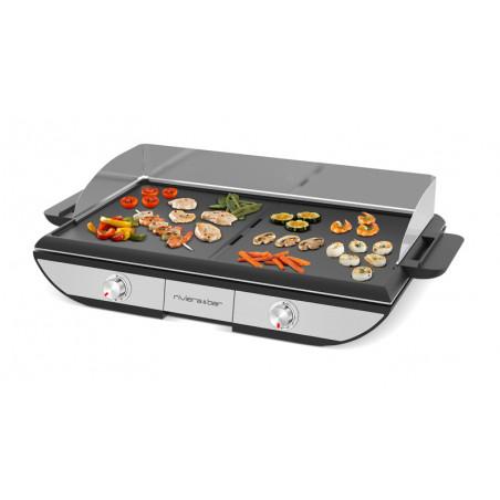 QPL700_Mode Plancha pour fruits de mer, légumes, viandes et poissons émincés...