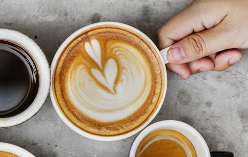 Il n'y a pas d'heure pour boire un café...